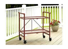 outdoor serving cart details about indoor outdoor serving cart folding ruby red outdoor serving cart ikea