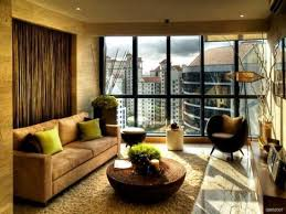 apartment living room furniture. cozy living room ideas within elegant modern furniture design idea brown velvet covering sectional couch sofa shag rug area round apartment