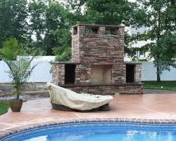outdoor fireplace in new jersey