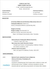 Medical Doctor Resume Example - Resume