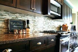 backsplash ideas with dark cabinets ideas for dark cabinets brown kitchen ideas kitchen backsplash ideas for