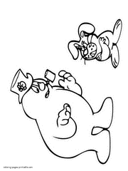 Small Picture Snowman coloring pages to print