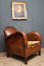 vintage art deco furniture. Vintage Antique 1930s Art Deco French Club Chair Armchair Furniture