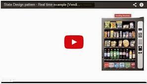 Java Vending Machine Stunning JAVA EE State Design Pattern Real Time Example [Vending Machine]