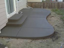 simple patio designs concrete. Concrete Patio Design Simple Designs L