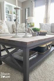 after trying this method out i m wishing i ll find more tables with scratched tops on every thrifting trip barn wood top coffee table makeover