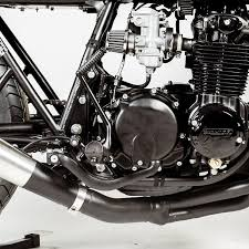 their honda cb550 was ultimately christened the black mamba for its cool flat black on gloss black coloration in all nico müller proved that a custom