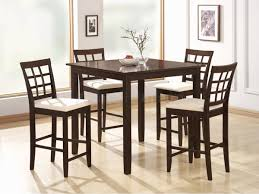 Counter Height Dining Table Sets - Tall dining room table chairs
