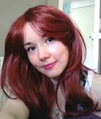 red brown hair dye