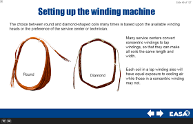 coil making equipment varies considerably therefore the mentor should provide the student with specific instructions on the use of the coil winding