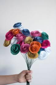 Flower Made In Paper Easy Paper Flowers Diy Pure Sweet Joy
