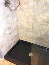tile shower floor pan inspirational base vs gurus build custom