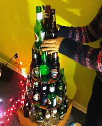 How To Decorate Beer Bottles Dont Like Traditional Christmas Trees Try Out One Of These The 59