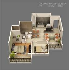 unique three bedroom bungalow house plans luxury 50 3d floor plans lay out 1200 sq ft