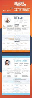 elegant resume template by departstudio graphicriver elegant resume template resumes stationery