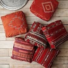 moroccan floor pillows. Plain Pillows Foxontherun Via Myu2026 Home Goods  At West Elm  Floor PoufWest ElmKilim  CushionsMoroccan For Moroccan Pillows