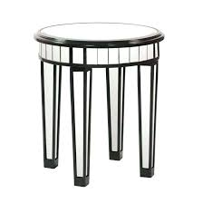 round mirrored accent table wooden trestle legs elegant wooden trestle legs round mirrored accent table with 4 legs and black mirrored glass accent table