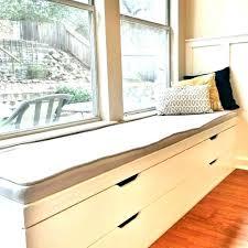 bedroom storage bench seat diy