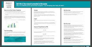 How To Make Poster Presentation In Chart Presentation Poster Templates Free Powerpoint Templates