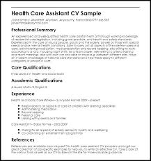 Home Health Aide Resume Gorgeous Health Aide Resume Healthcare Resume Examples Personal Care Aide