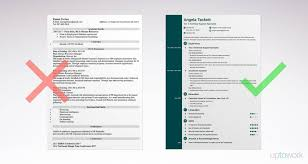 Simple Resumes Templates Awesome Simple Resume Templates 48 Examples To Download Use Now Simple