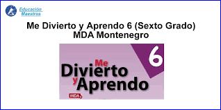 Paco el chato español sexto grado. Me Divierto Y Aprendo 6 Sexto Grado Contestada Mda Montenegro Educacion Maestros