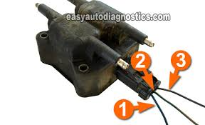 part 1 how to test the ignition coil pack chrysler 2 0l 2 4l circuit descriptions of the chrysler coil pack connector