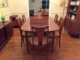 mid century modern dining room table. Mid Century Modern Walnut Dining Set By Broyhill Emphasis Room Table T