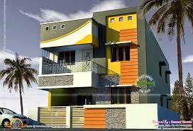 Tamilnadu House Elevation Designs 2000 Sq Feet Tamilnadu House Kerala Home Design And Floor