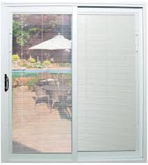 sliding gl patio doors with built in blinds french