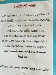 Muttertag Gedicht Pinterest Muttertag Vatertag Und Muttertag
