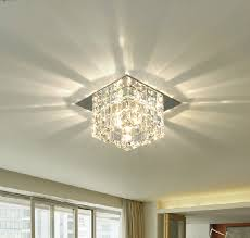 bathroom ceiling lights crystal square popular ceiling surface mounted led lights ceiling