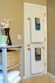 Bathroom Door Rack 17 Best Ideas About Bathroom Towel Racks On Pinterest Towel