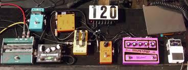 paul gilbert diy pedalboard diy guitar tone before rewiring the board