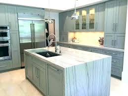 waterfall edge countertop island quartz waterfall island what is a cost concrete memes s edge double waterfall edge countertop