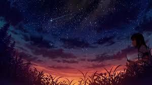 Anime Starry Night Sky Live Wallpaper ...
