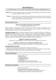 Sample Resumes For Mechanical Engineers Best of Production Engineer Sample Resume Unique Mechanical Engineering
