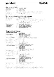 Resume For Auto Mechanic Auto Mechanic Resume Mechanic Resume