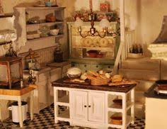 dollhouse kitchen furniture. Kitchen Furniture For The Dollhouse (note Also Detail Of Bottles On  Stairs) | Kitchen N