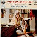 Marianne Faithfull [Japan]
