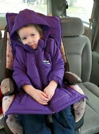 car seat safety with winter coats how to keep kids warm while complying with car seat safety cozywoggle coat
