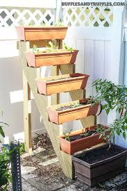 diy vertical planter garden vertical