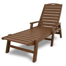 patio chaise lounge. Polywood® Nautical Outdoor Folding Chaise Lounge Chair, Black Patio