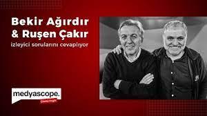 Bekir Ağırdır & Ruşen Çakır Medyascope izleyicilerinin sorularını yanıtladı  - YouTube
