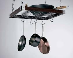 concept housewares square ceiling rack espresso wood 23 x 19 com