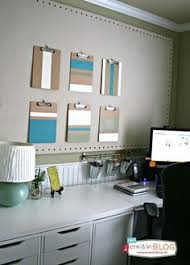 arts crafts home office. ColorBlock Clipboards - Functional Wall Art To Get Organized Arts Crafts Home Office H