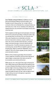 susan cherbuliez landscape architecture firm profile