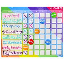 Oversize Calendar Behavior Chart For Kids Magnetic Chore
