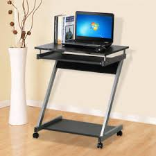 computer desk small spaces. Image Is Loading Corner-Computer-Desk-Small-Spaces-on-Castors-PC- Computer Desk Small Spaces S