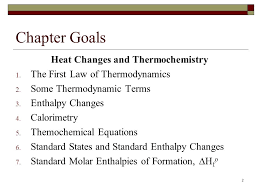 2 chapter goals heat changes and thermochemistry 1